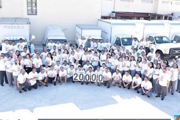 """#TodosSomosOEM 20,000 """"Me Gusta"""""""
