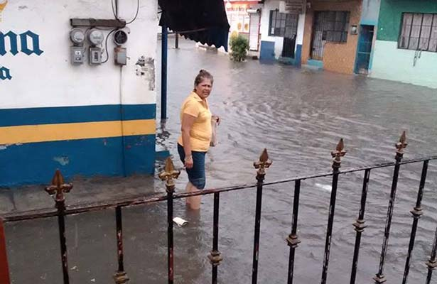 """Inundadas las Zonas Bajas por la Tormenta Tropical """"Danielle"""""""