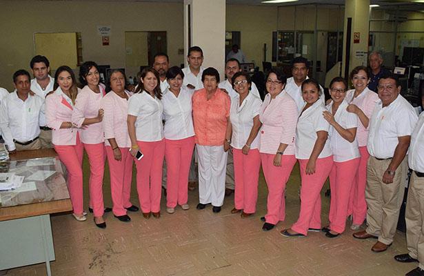 Visita la Maestra Magda El Sol de Tampico