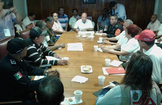 Instalan Consejo de Protección Civil en Pueblo Viejo