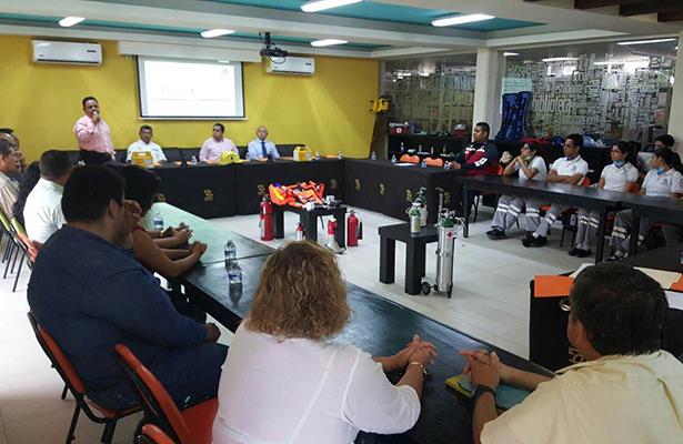Ponen en Marcha la Primera Escuela de Protección Civil de Tamaulipas en el CBTIS 103