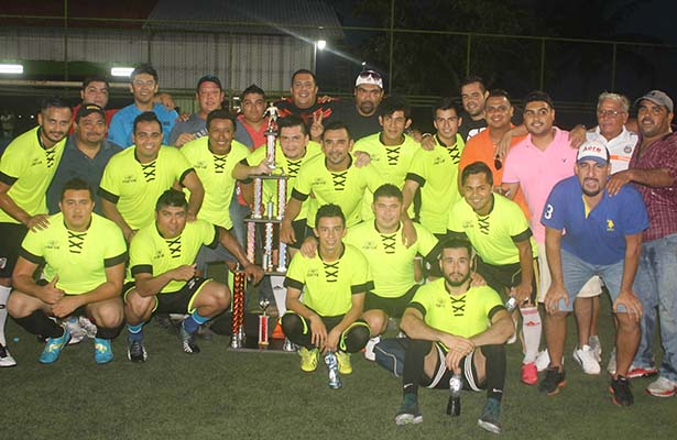 Amigos de Jordy *Gana Torneo de Futbol Inter-Petrolero