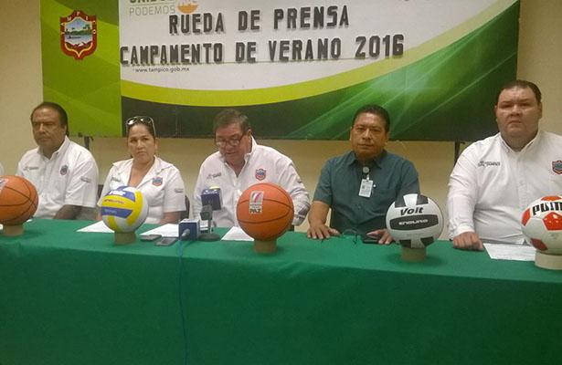 Anuncian Campamento de Verano en Tampico