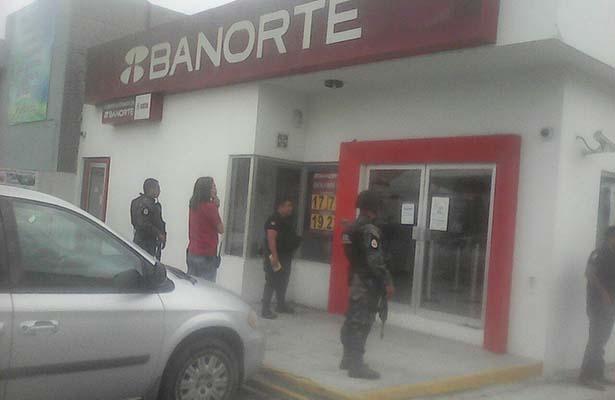 Asalto en Banorte de Cd. Madero