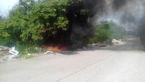 Antes de que empiece la cánicula ya se registran incendios en Altamira