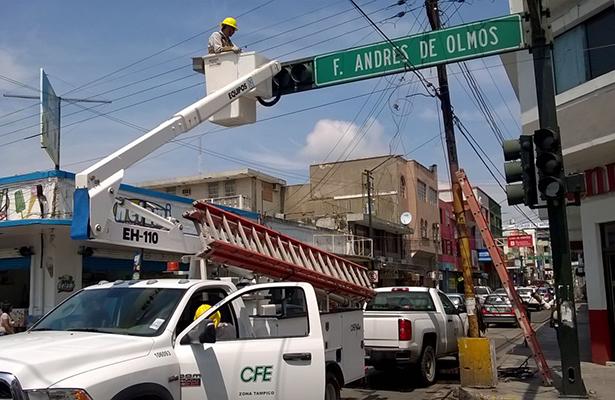 PC ordena revisión del sistema de cableado en inmuebles de la zona centro