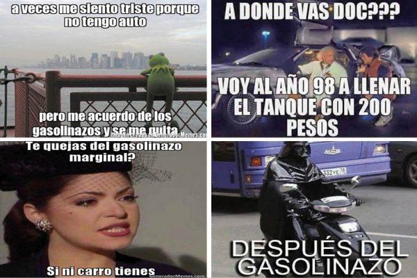 Los memes por el gasolinazo invaden las redes sociales