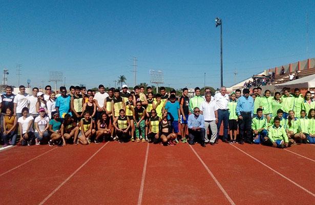 Con éxito se realizó la eliminatoria municipal de atletismo de Ciudad Madero, de la Olimpiada Nacional.