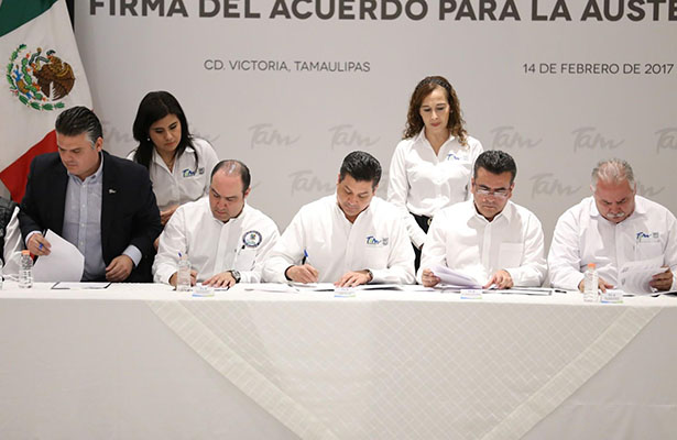 Congreso apoya el acuerdo de austeridad convocado por gobernador