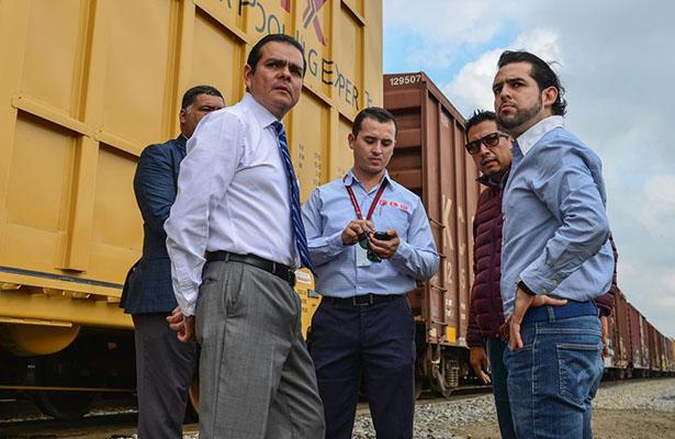 Supervisan ampliación de segunda vía férrea en Nuevo Laredo