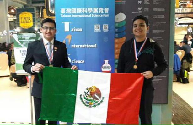 Jóvenes Tamaulipecos ganaron el bronce en la Feria Internacional de Ciencias en Taiwán