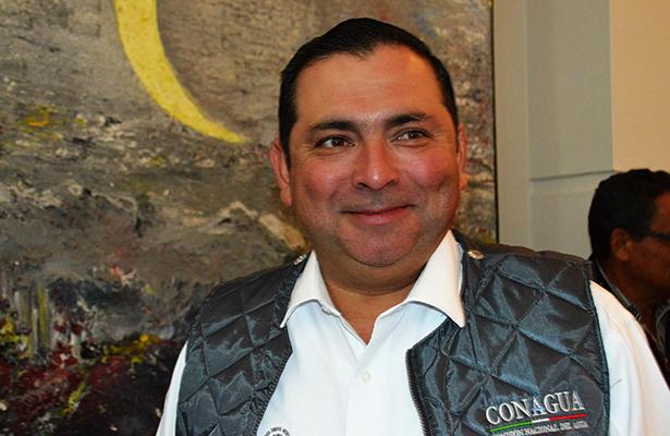 Rubén Quiroga, director de la Cuenca Golfo Norte de la Comisión Nacional del Agua.