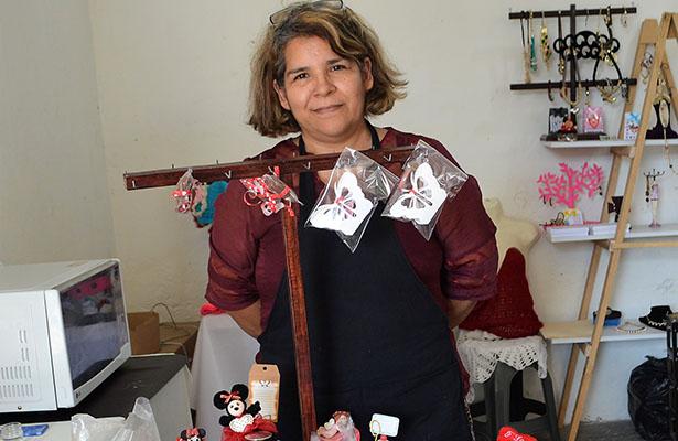Tina Zapata, artesana porteña de chocolates