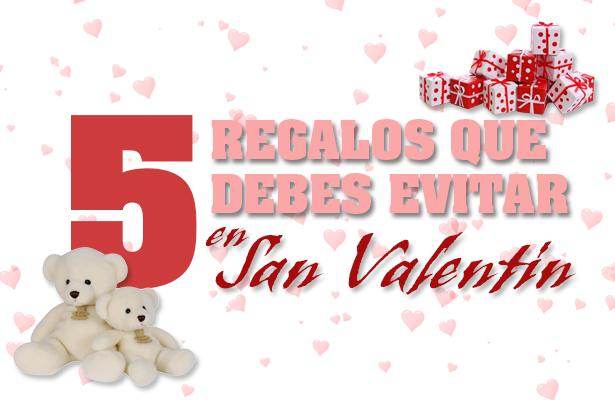 Conoce los regalos de San Valentín que pueden provocar rupturas