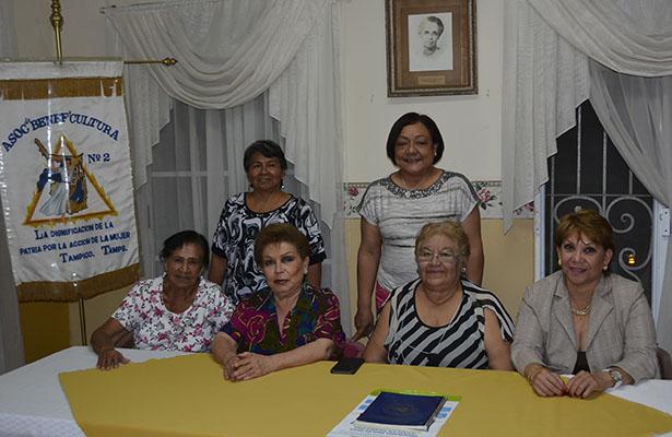 Organizan bingo las  damas del ABC de Tampico
