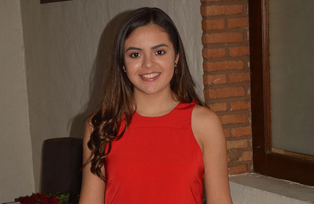 María Fernanda Carrillo Olvera, anfitriona del Club Campestre en la comida de San Valentín