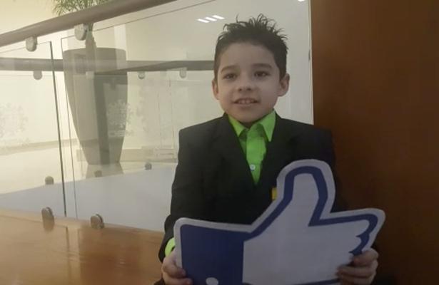 Huguito Ruiz Jr. quiere ser rey infantil del Carnaval Tampico 2017