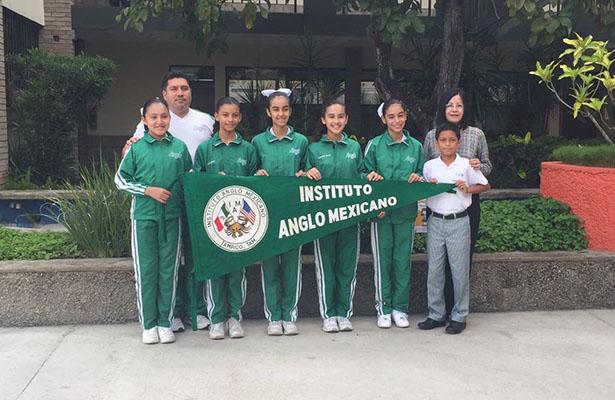 Representativos del Instituto Anglo Mexicano listos para el estatal de los juegos escolares