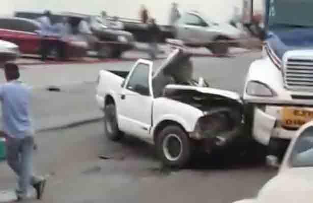 Joven tampiqueño perece en accidente en la Avenida de la Industria