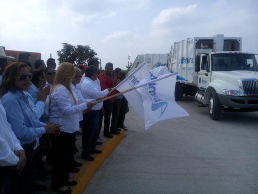 Entrega la presidenta de Altamira 10 nuevas unidades recolectoras
