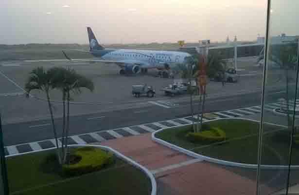 Con normalidad se desarrollan las operaciones en el aeropuerto de Tampico