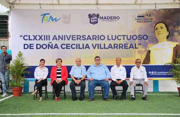 Conmemoran CLXXIII aniversario luctuoso de Doña Cecilia