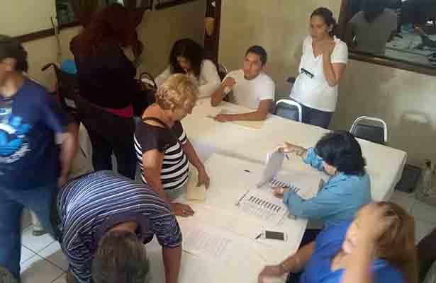 Copiosa asistencia de militantes del PAN en Ciudad Madero para elegir a su próximo dirigente periodo 2017-2020