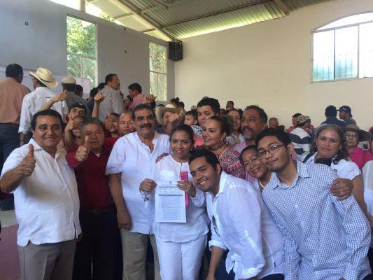 Registra Rebeca Sequera precandidatura a la alcaldía de Tampico Alto