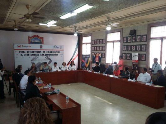 Firman convenio de trabajo para apoyar el desarrollo de jóvenes