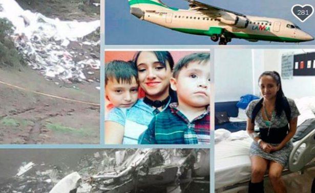 Pesadilla no termina para azafata sobreviviente del avionazo de Chapecoense