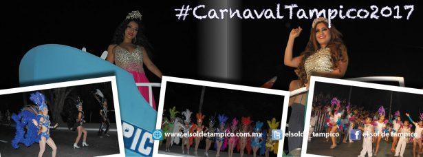 Alegría, colorido y música en el Carnaval Tampico 2017