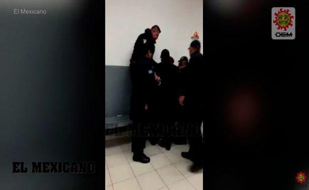 Video revela cómo muere detenido en cárcel de Juárez