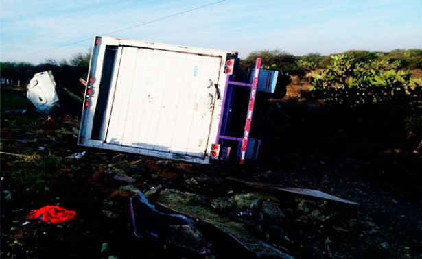 Choque en carretera de Aguascalientes deja un muerto