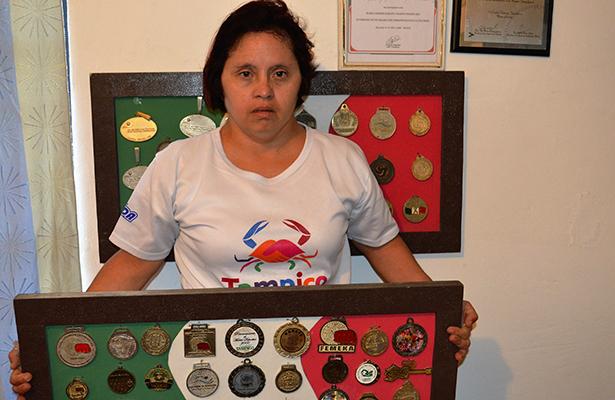 María Yunuen, la deportista Down; una historia de desafíos y éxitos