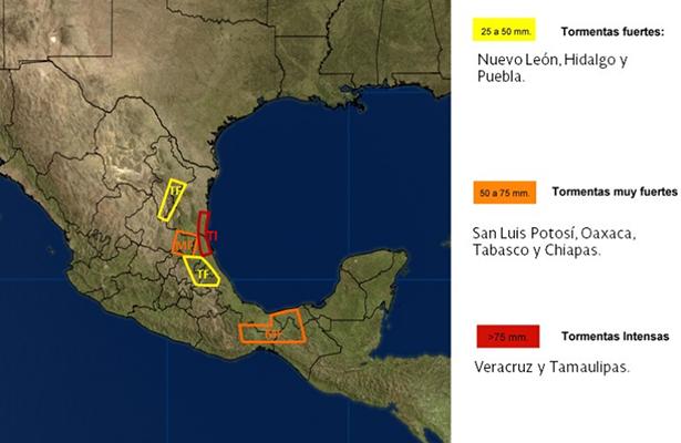 Colima, con cielo parcialmente nublado pero sin probabilidad de lluvia