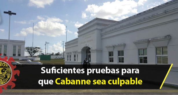 Suficientes pruebas para que Cabanne sea culpable