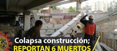 Estacionamiento en construcción cae y mata a seis personas