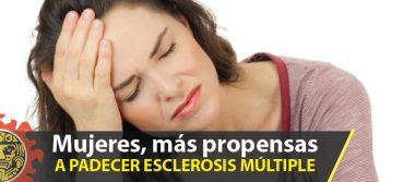 Mujeres, más propensas a padecer esclerosis múltiple