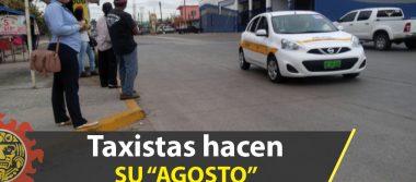 Taxistas aprovechan paro; aumentan hasta 150% precio del pasaje