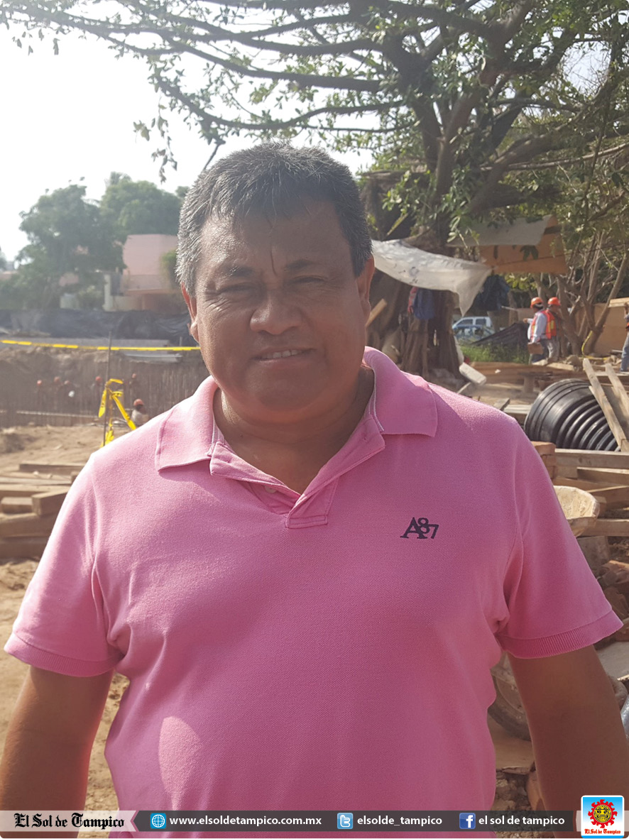 Carlos Campos Castillo, secretario general de la Federación Local de Trabajadores de Ciudad Madero.
