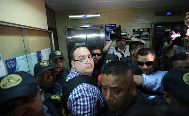 Duarte podría pasar en la cárcel hasta 55 años: PGR