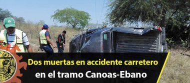 Dos muertas en accidente carretero en el tramo Canoas-Ebano