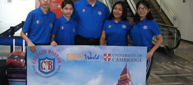 Alumnos del Colegio Boston viajan a Inglaterra para tomar un curso de Inglés