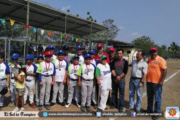 """En marcha el Torneo de Beisbol de Esteros, Tams. """"Jorge Pancardo Zamora"""""""