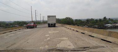 Urge reparación del Puente Anáhuac