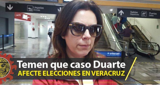 Temen que caso Duarte afecte elecciones en Veracruz