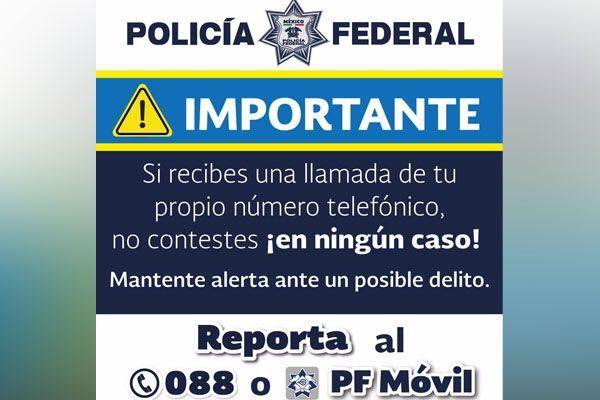 Atiende esta advertencia y evita ser víctima de un delito