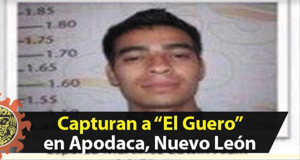 """Capturan a """"El Guero"""" uno de los 28 internos fugados en Cd. Victoria"""