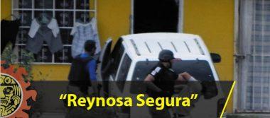"""Continúan implementando estrategias de seguridad como parte del operativo """"Reynosa Segura"""""""