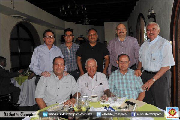 Rotarios Tampico tienen interesante sesión de trabajo